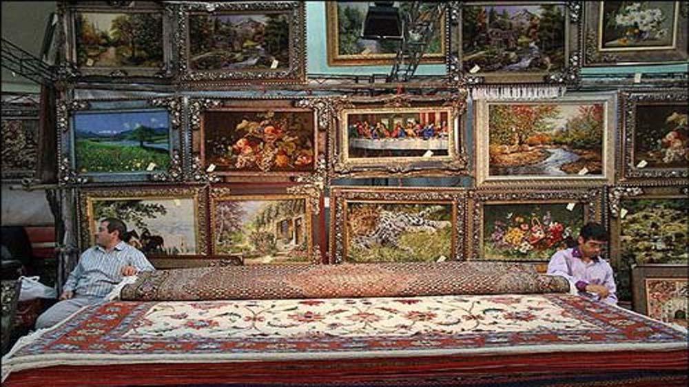 عکس نمونه فرش نهمین نمایشگاه فرش اردبیل