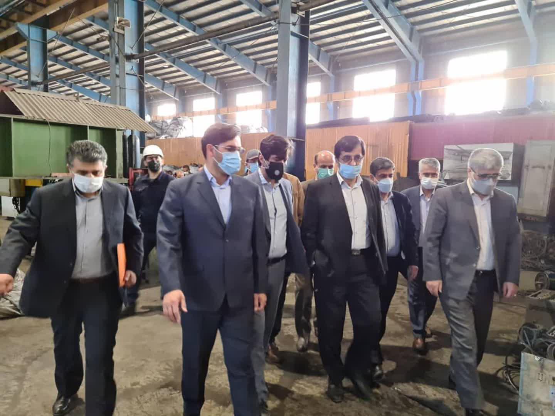 بازدیداز واحدهای تولیدی شهرک صنعتی اردبیل