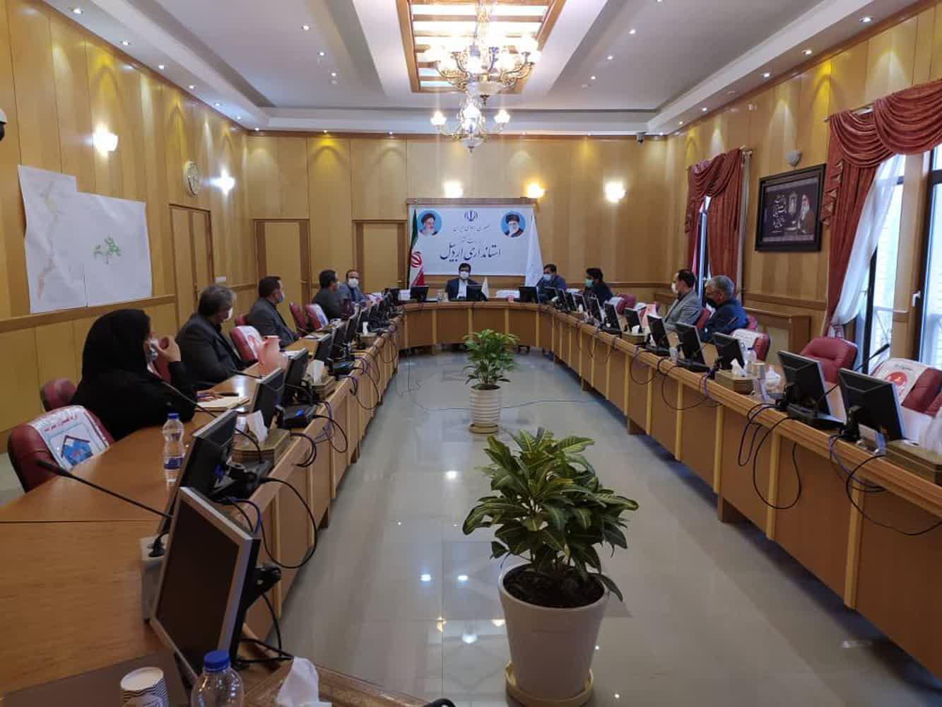 سی و دومین جلسه ستاد تسهیل و رفع موانع تولید استان اردبیل
