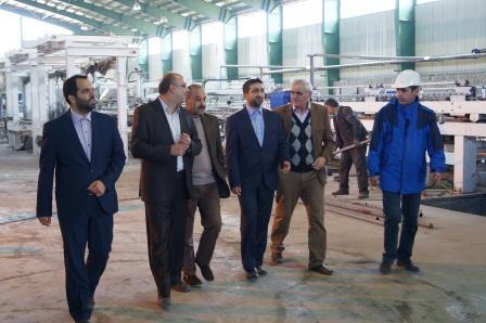 بازدید از واحد تولیدی آرتا پان در  اردبیل