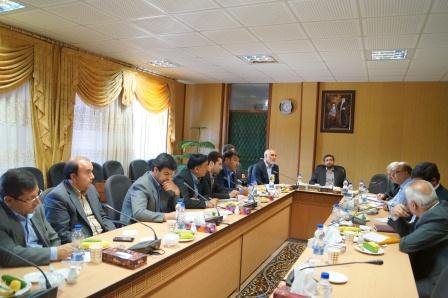 جلسه شورای معاونین سازمان صنعت ، معدن و تجارت  استان اردبیل